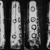 Figura 1. :: Dado de Huayru. Se aprecian las seis caras, alusivas a valores numéricos. Fuente: Museo Arqueológico de la Universidad de Cuenca.