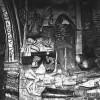Figura 6. :: Mural alusivo a la igualdad de la muerte entre los seres humanos, más allá de las jerarquías sociales terrenas. Iglesia de Huaro, Departamento del Cuzco, siglo XIX