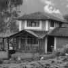 Figura 1. :: Cabaña Construida en la Comunidad de San Clemente para recibir turistas extranjeros.